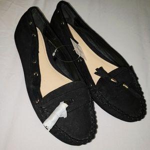 Forever 21 Black Flats Size 6